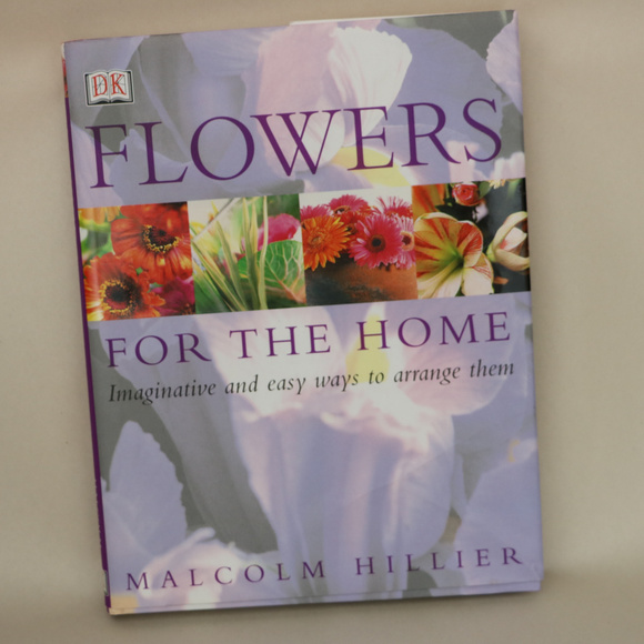 Other - Flowers for the Home Hardback book Malcolm Hillier